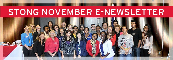 STONG NOVEMBER E-NEWSLETTER GROUP PHOTO