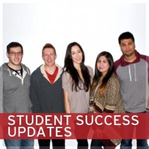 STUDENT SUCCESS UPDATES