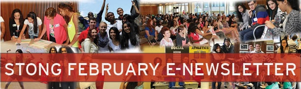 This is the Stong February E-Newsletter banner.