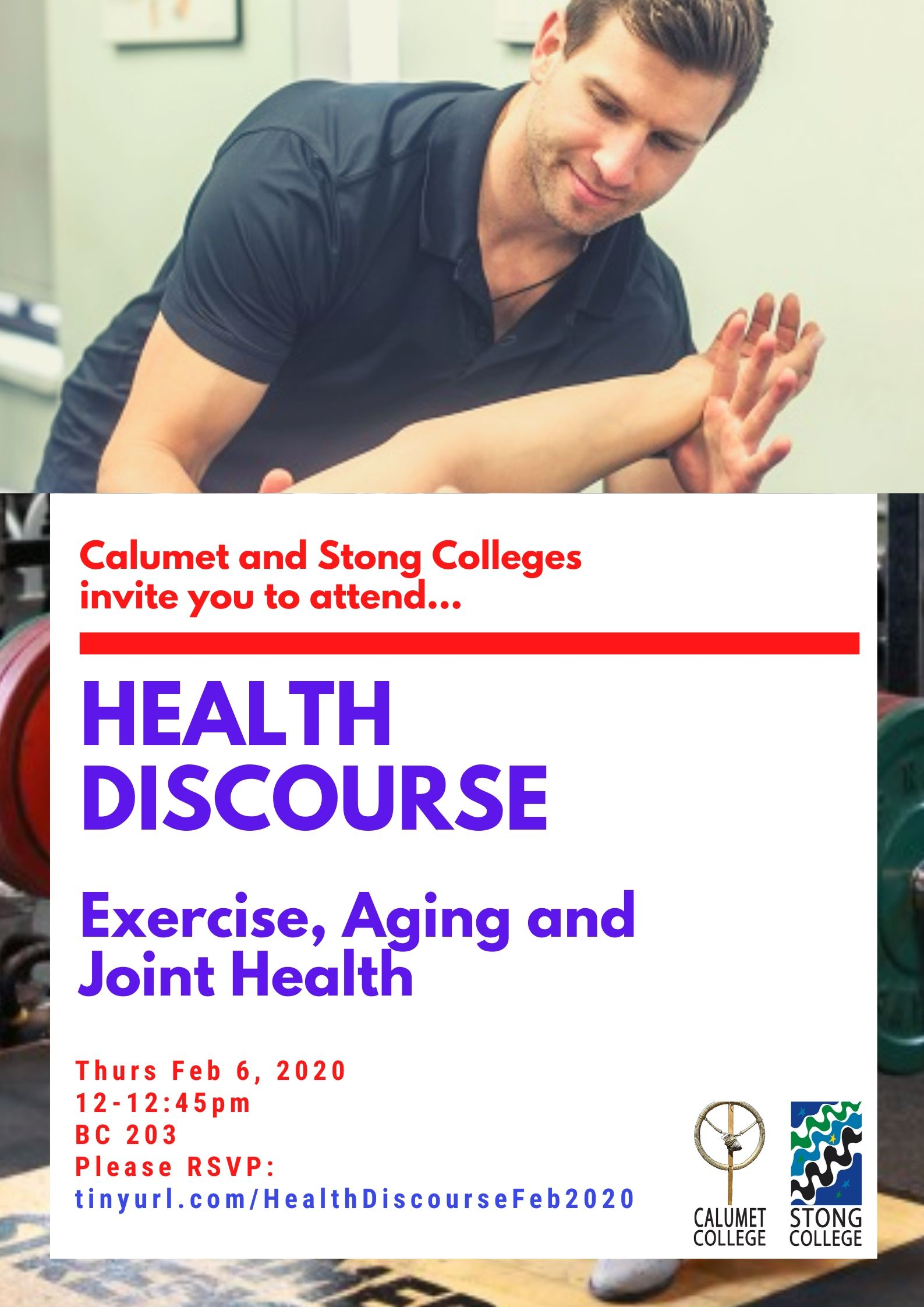 Health Discourse:Exercise, Aging and Joint Health: A new perspective @ Bethune College 203