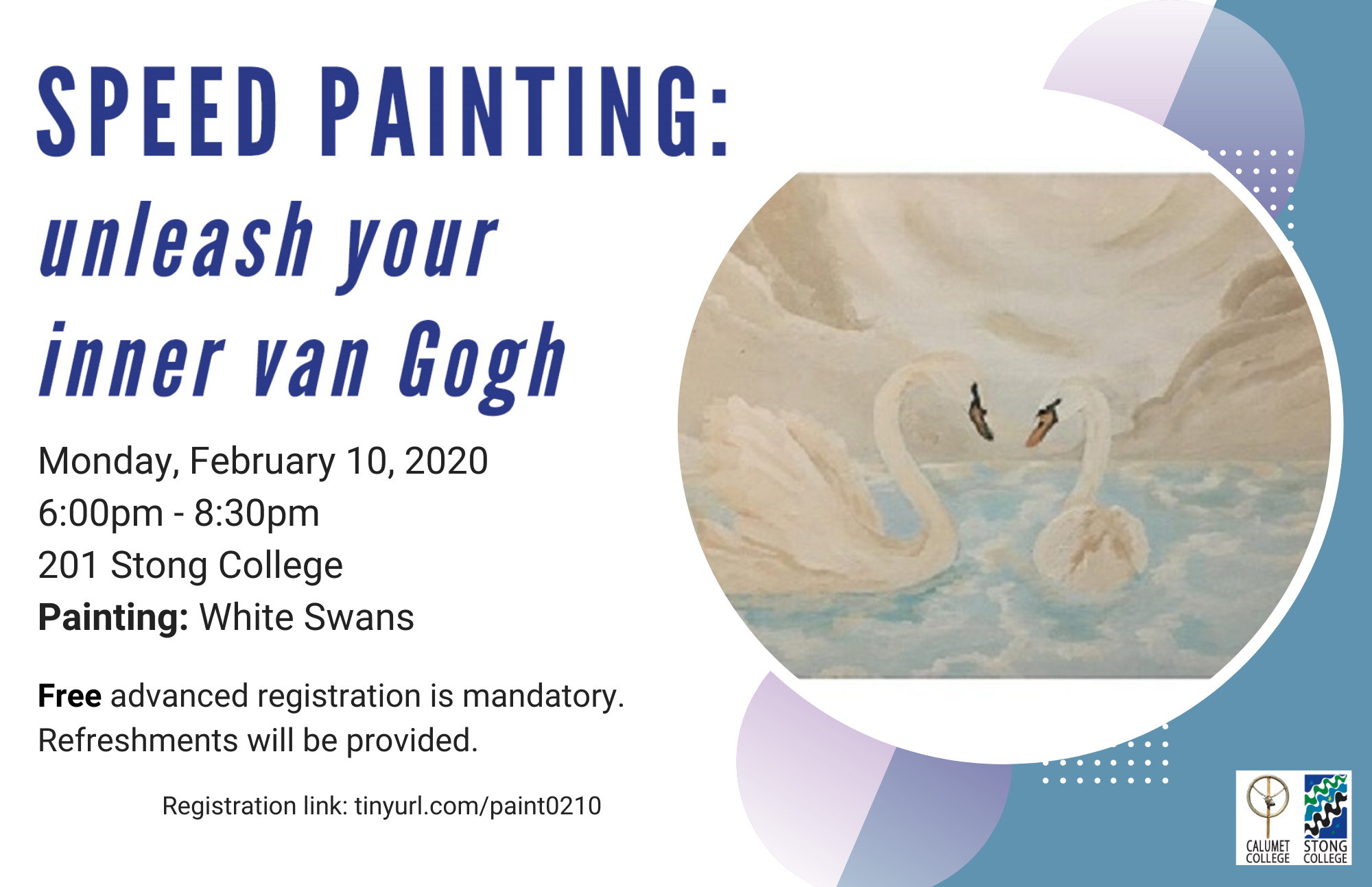 Speed Painting: Valentine's Day Painting @ Stong College, Room 201