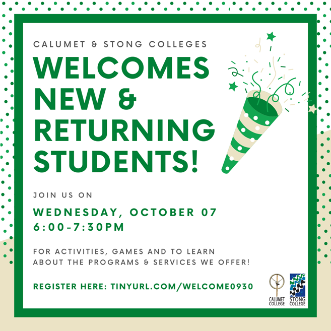 CCSC Welcome Event Poster
