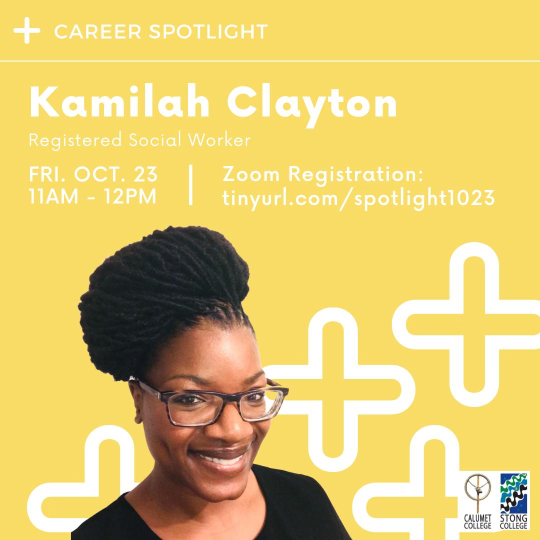 Kamilah Clayton Event Poster
