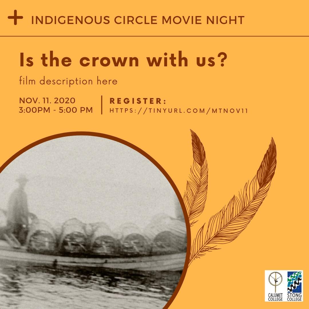Indigenous Circle Movie Time @ Zoom Meeting ID: 958 699 6884