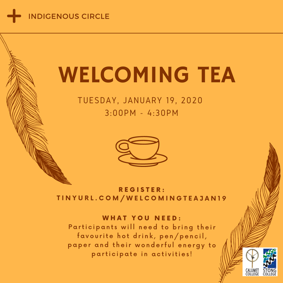 Indigenous Circle Welcoming Tea @ Zoom Meeting