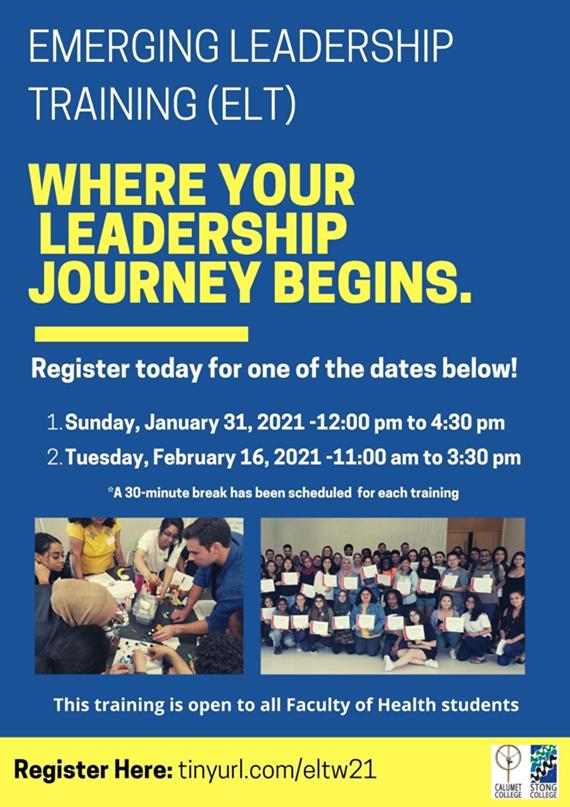 Emerging Leadership Training (ELT) @ Zoom Meeting
