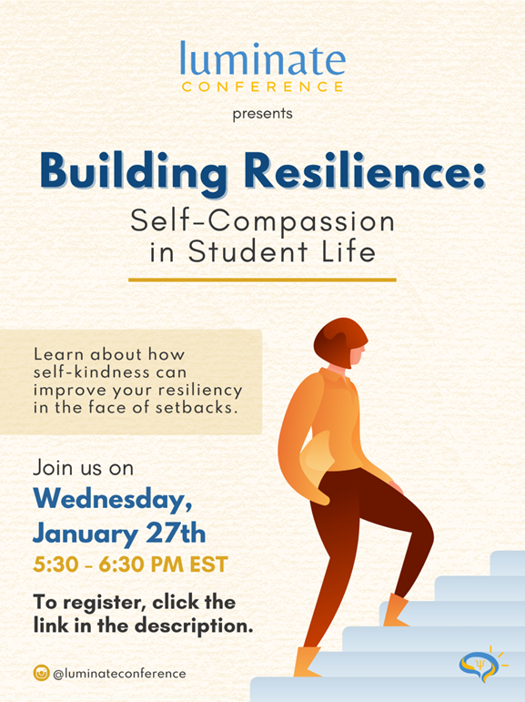 Luminate: Self-Compassion and Building Resilience @ Zoom Meeting