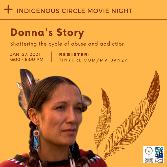 Indigenous Circle Movie Time: Donna's Story @ Zoom Meeting