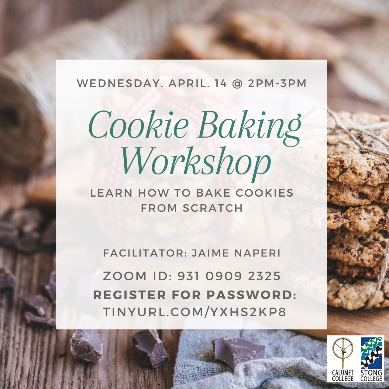 Speed Baking Workshop