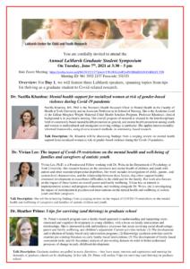 Annual LaMarsh Graduate Student Symposium