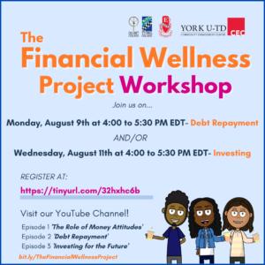 The Financial Wellness Project Workshops - Debt Repayment
