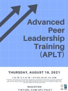 Advanced Peer Leadership Training (APLT)