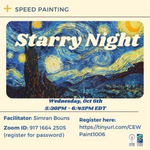 Speed Painting Workshop: Starry Night
